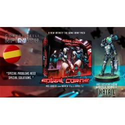SPIRAL CORPS ARMY PACK+EXCLUSIVE MINIATURE