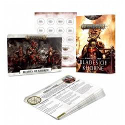 WARSCROLL CARDS: BLADES OF KHORNE (ESP)