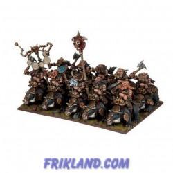 Dwarf Bulwarkers Regiment (20 Figures)