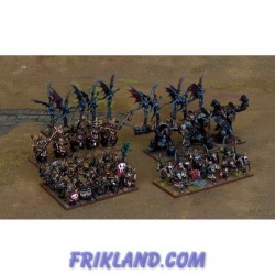 Abyssal Dwarf Army Set (48 Figures)