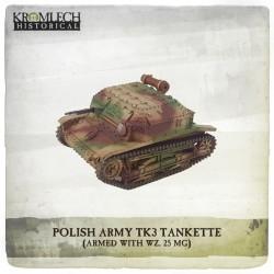 POLISH ARMY TK3 TANKETTE