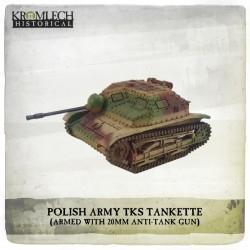 POLISH ARMY TKS TANKETTE