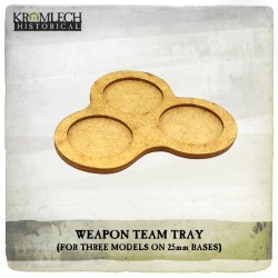 WEAPON TEAM TRAY X5