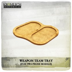 WEAPON TEAM TRAY X5 (PRONE MODELS)