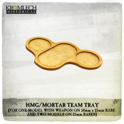 HMG/MORTAR TEAM TRAY X4