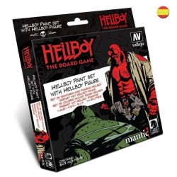 Hellboy Paint Set con figura