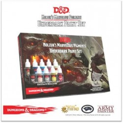 Underdark D&D Paint-set + Drizzt Mini excl.