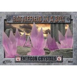 Energon Crystals - Purple (x6) 30mm