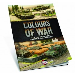 Colours of War Painting WWII & WWIII Paint Set (inglés)