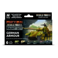 WWII Paint Set German Armour