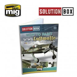 WWII Luftwaffe Late Fighters Solution Book Mult.