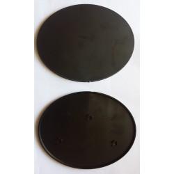 Base elíptica 105x70mm con anclaje para imán (1)