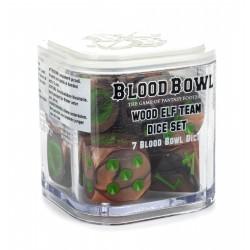 BLOOD BOWL: WOOD ELF TEAM DICE SET