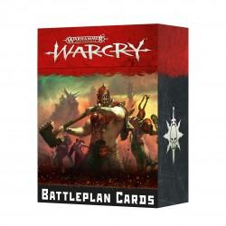 Cartas de planes de batalla de Warcry