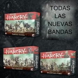 Warcry: Pack nuevas bandas