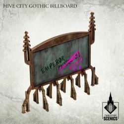 HIVE CITY GOTHIC BILLBOARDS