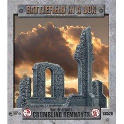 Gothic Battlefields - Crumbling Remants (x2) 30mm