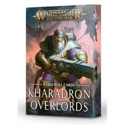 WARSCROLLS: KHARADRON OVERLORDS (español)