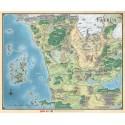 """Mapa de Faerûn (27"""" x 32"""")"""
