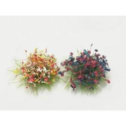 Terrain Accessories: 6mm Whitefrost Winter Grass Tufts (100)