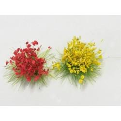 Terrain Accessories: 6mm Wildflower Blooming Grass Tufts (100)