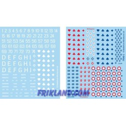 French EW Decals