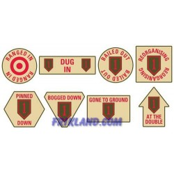 1st Infantry Division Token Set
