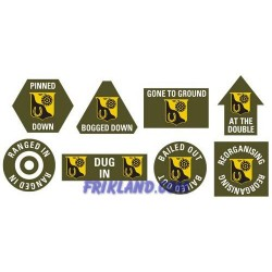 91st Cavalry Token Set