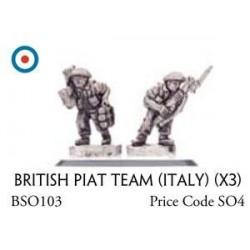British PIAT Team (x3)