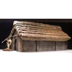 Medium Wattle & Timber dwelling