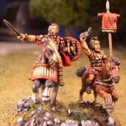 Mounted Hannibal & Standard Bearer