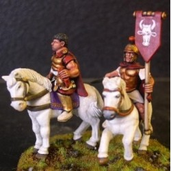 Mounted Hannibal & Standard Bearer