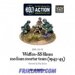WAFFEN-SS 81MM MORTAR MEDIUM TEAM (1943-45)
