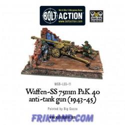 WAFFEN-SS 75MM OAK 40 ANT-TANK GUN (1943-45)