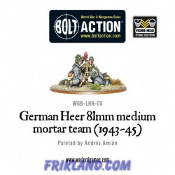 GERMAN HEER 81MM MORTAR