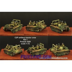 1x35 Polish FT17 Tank Crew set