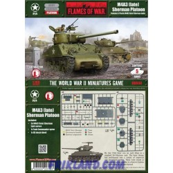 M4A3 (late) Platoon (plastic)