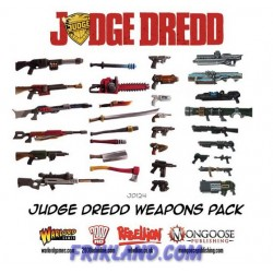 JUDGE DREDD WEAPONS PACK