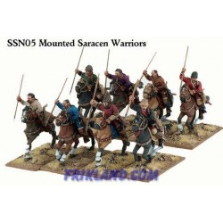 Saracen Warriors on Foot (8)