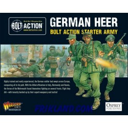 BOLT ACTION STARTER ARMY-GERMAN