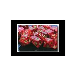 Speckled 12mm d6 Strawberry (36 Dice)