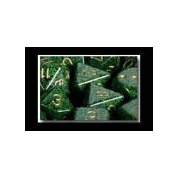 Speckled 12mm d6 Golden Recon (36 Dice)