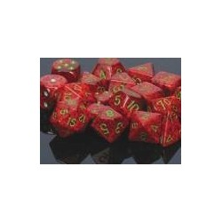 Speckled 16mm d6 Strawberry (12 Dice)