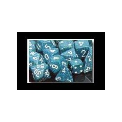 Speckled 16mm d6 Sea (12 Dice)