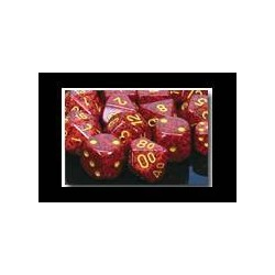 Speckled 16mm d6 Mercury (12 Dice)