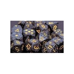 Speckled 16mm d6 Urban Camo (12 Dice)
