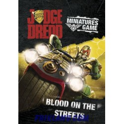 BLOOD ON THE STREETS-JUDGE DREDD SUPPLEMENT