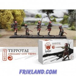 ASHIGARU CON TEPPO