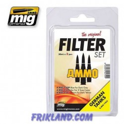Filter Set For German Tanks