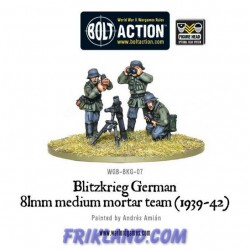 BLITZKRIEG GERMAN 81MM MEDIUM MORTAR